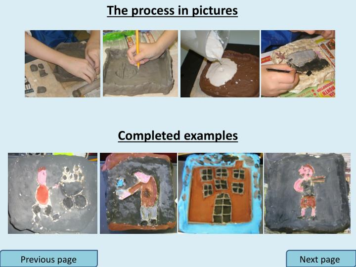 The process in pictures