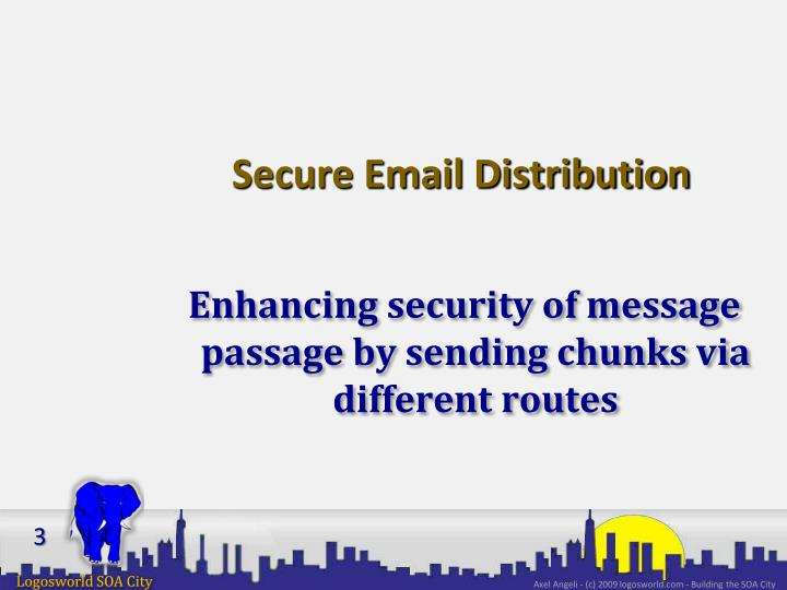 Secure email distribution