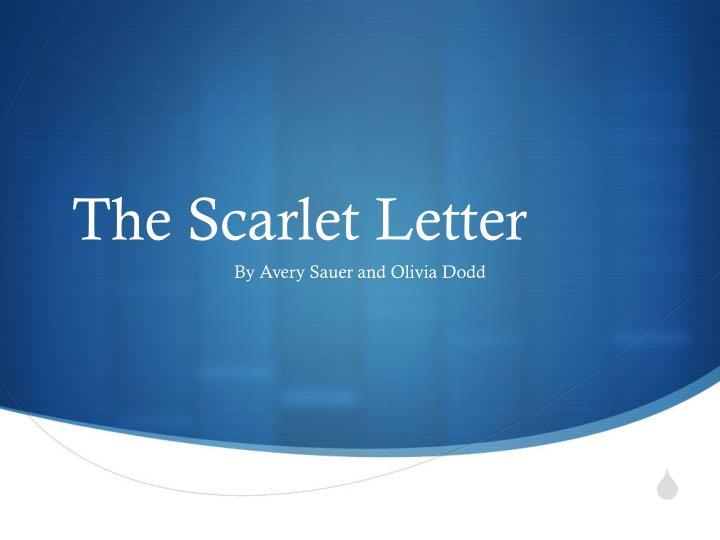 scarlet letter chapter 5 6 A chapter-by-chapter reading guide for the scarlet letter a 1636 plymouth colony law the scarlet letter 1456 words | 6 more about scarlet letter study.