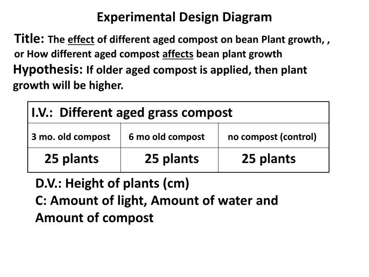 Ppt experimental design diagram powerpoint presentation id1923378 experimental design diagram ccuart Image collections