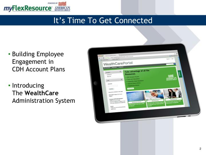 Building employee engagement in cdh account plans