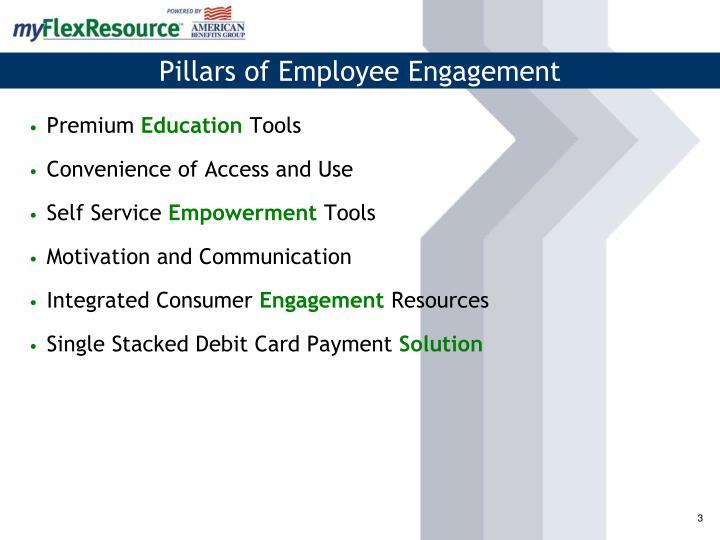 Pillars of employee engagement