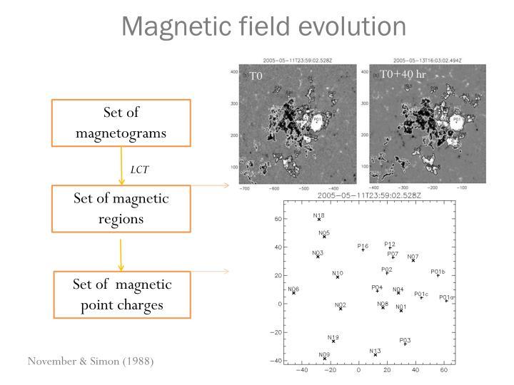 Magnetic field evolution