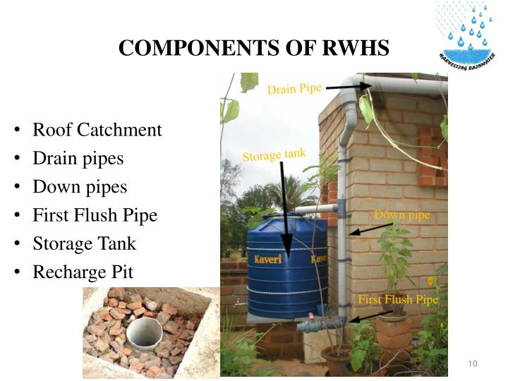 COMPONENTS OF RWHS