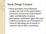 study design content1