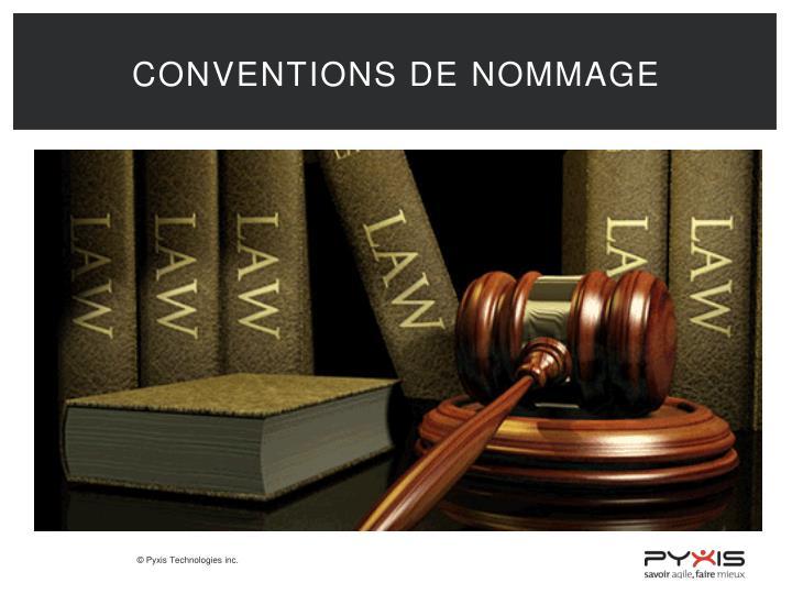 Conventions de
