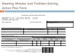 meeting minutes and problem solving action plan form2