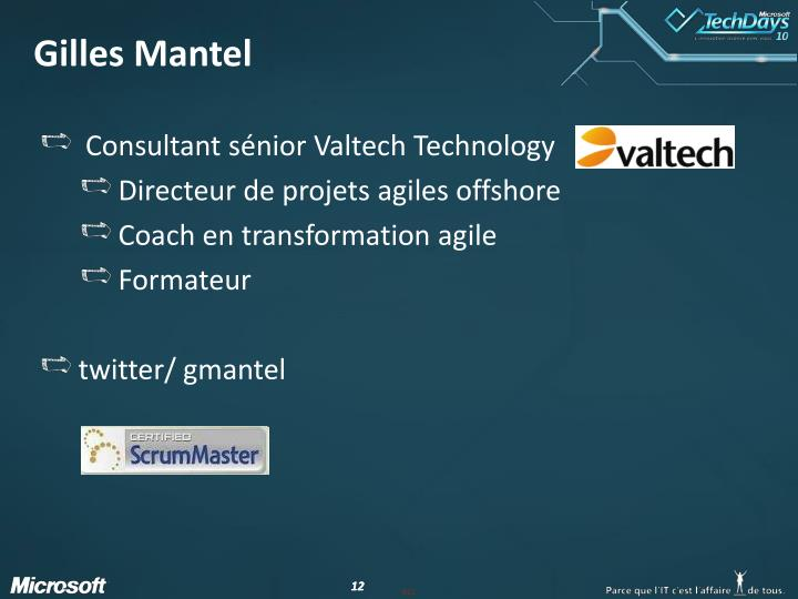 Gilles Mantel