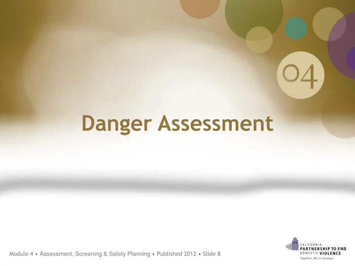 Danger Assessment