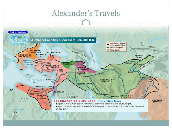 Alexander's Travels