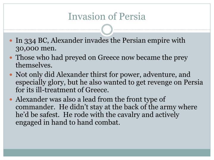 Invasion of Persia