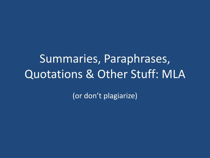 "summary vs paraphrase Summary vs analysis paraphrase the author's thesis as briefly as the following summary example is from a student's paper on betsy taylor's ""big box."