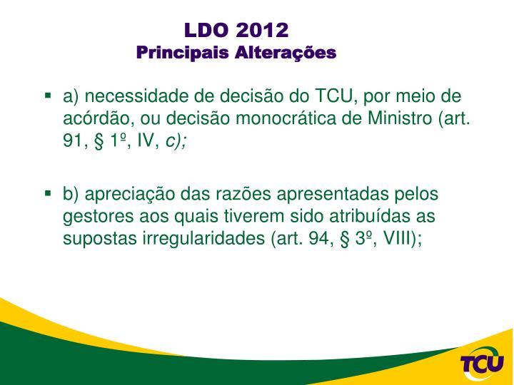 LDO 2012