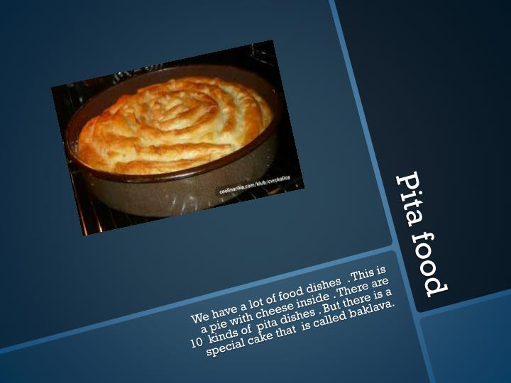 Pita food
