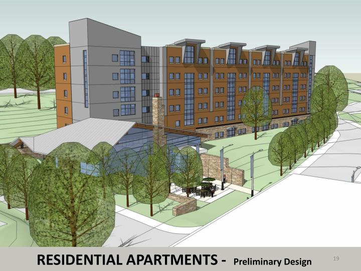 RESIDENTIAL APARTMENTS -