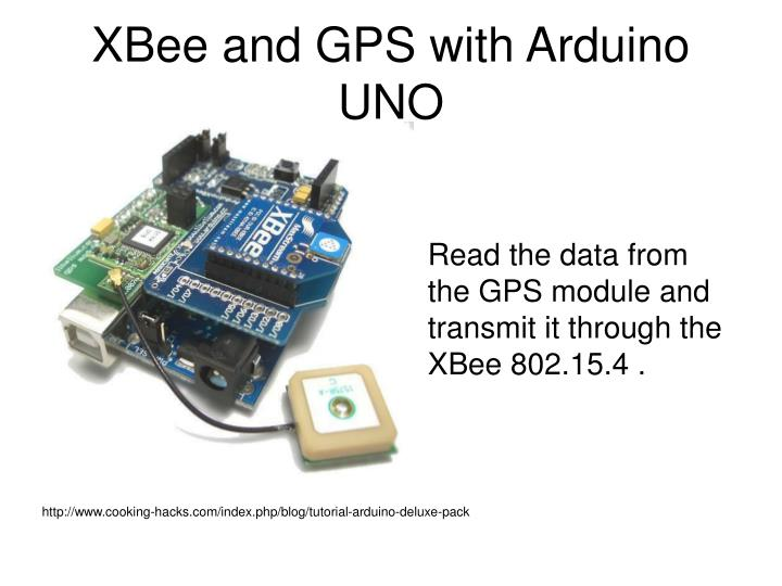 XBee and GPS with Arduino UNO