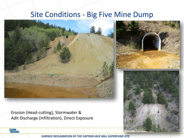 Site Conditions - Big Five Mine Dump