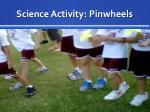 science activity pinwheels