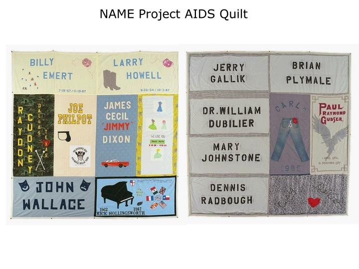 NAME Project AIDS Quilt