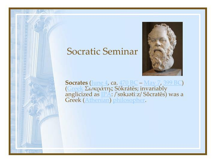 in the socratic tradition essays on teaching philosophy Free essay: my teaching philosophy i believe that education extends far beyond the classroom walls, and involves many more people than students and teachers my teaching philosophy i believe that teaching is one of the most important professions in the world today from the very beginning.