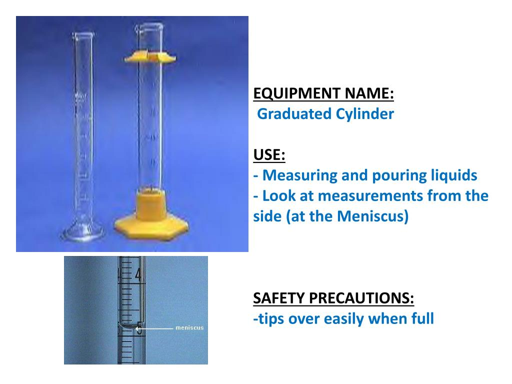 what piece of lab equipment measures mass