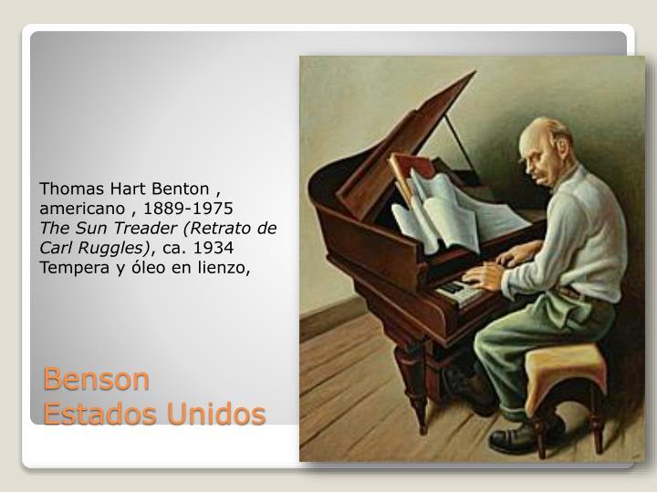 Thomas Hart Benton ,