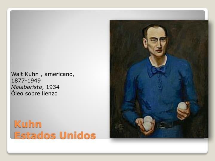 Walt Kuhn ,