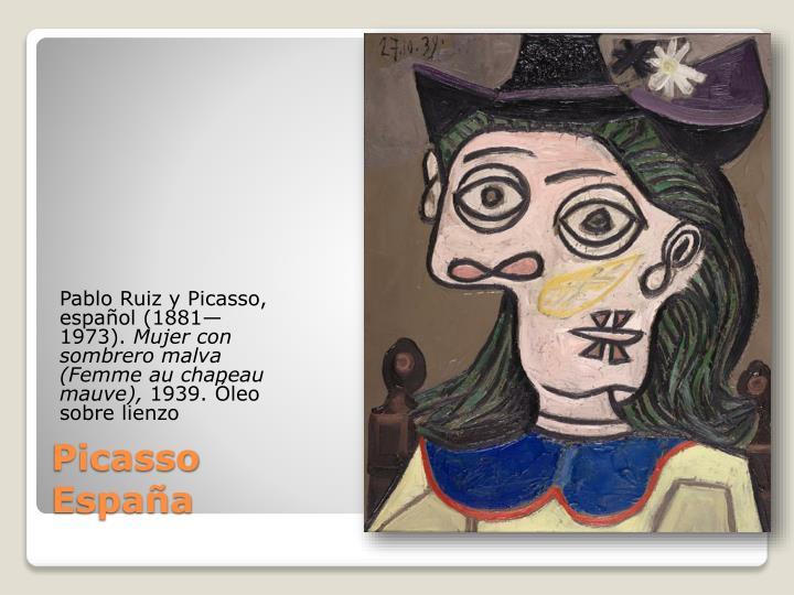 Pablo Ruiz y Picasso,