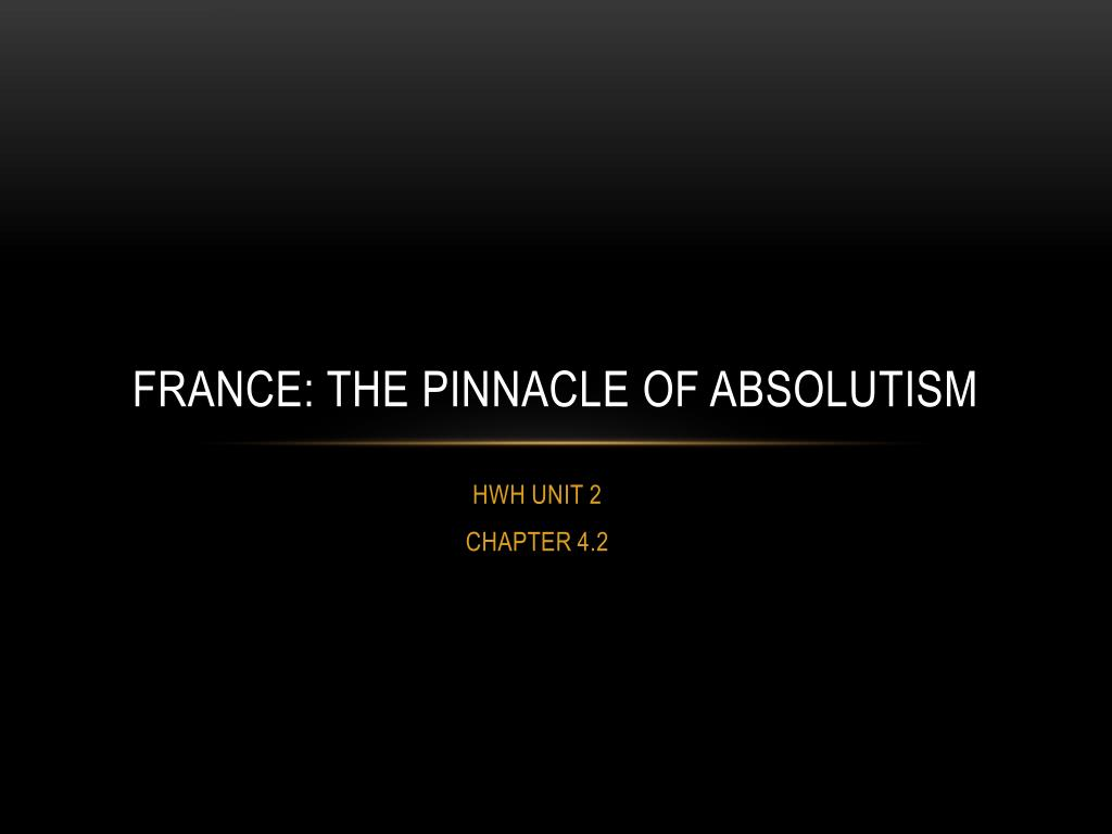 the origins of french absolutism 1598 1661 james alan