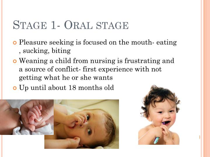 Stage 1- Oral stage