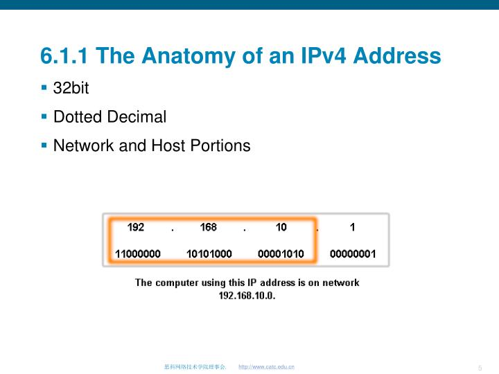 PPT - Addressing the Network – IPv4 PowerPoint Presentation - ID:1927118
