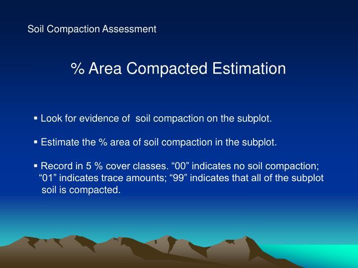 Soil Compaction Assessment