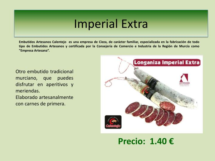 Imperial extra