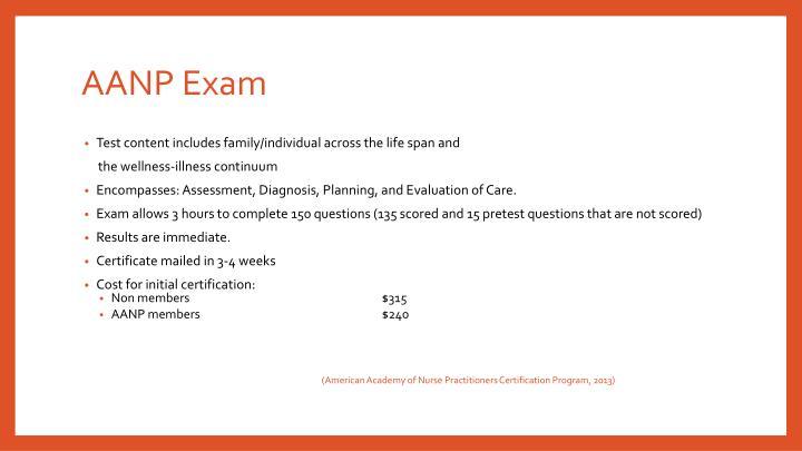 AANP Exam