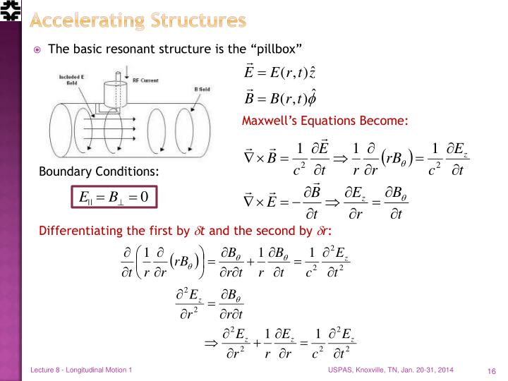 Accelerating Structures