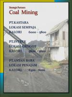 strategic partners coal mining