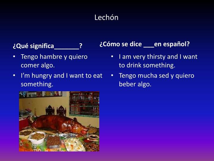 Lechón