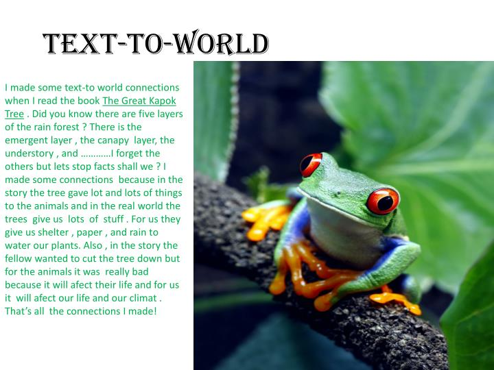 TEXT-TO-WORLD