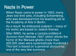 nazis in power