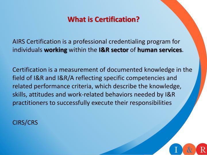 Ppt Informontario Symposium The Certification Process June 2014