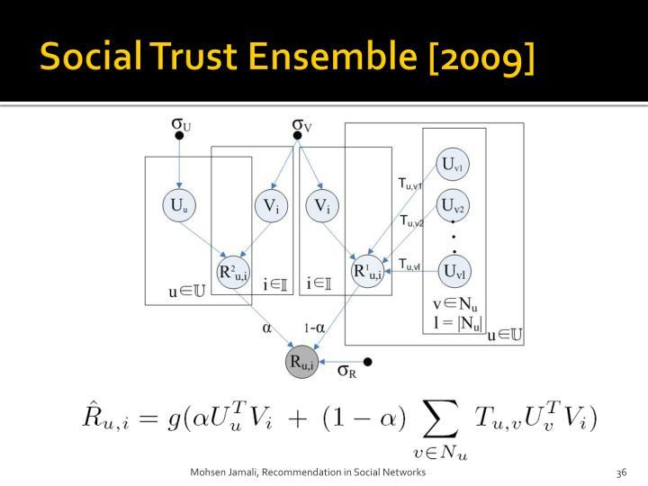 Social Trust Ensemble [2009]