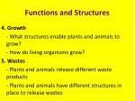 functions and structures2