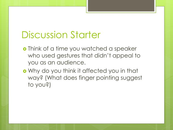Discussion Starter