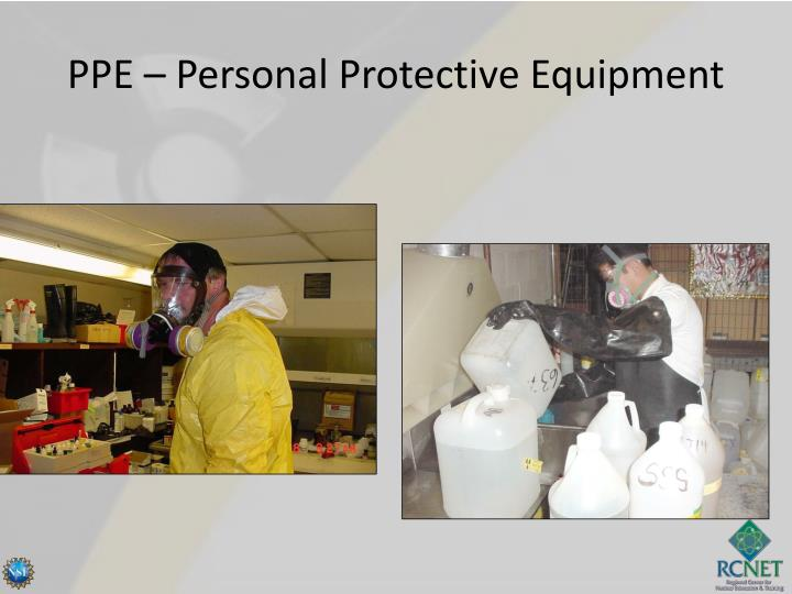 PPE – Personal Protective Equipment