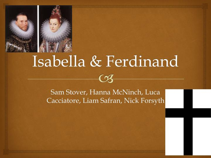 the influence of religion in isabella and ferdinands policies Start studying spain: ferdinand and isabella's success and failure learn vocabulary, terms, and more with flashcards, games, and other study tools.