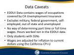 data caveats