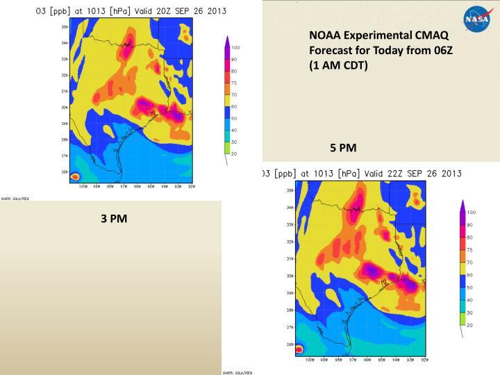 NOAA Experimental CMAQ