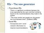 rss the new generation1