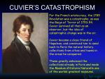 cuvier s catastrophism