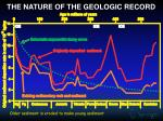 the nature of the geologic record